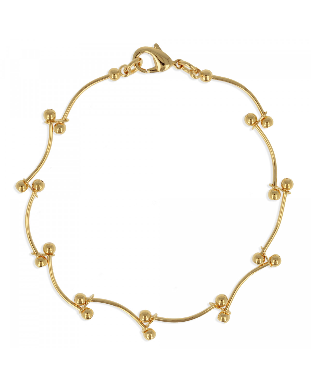 Vergoldet Armband 19cm