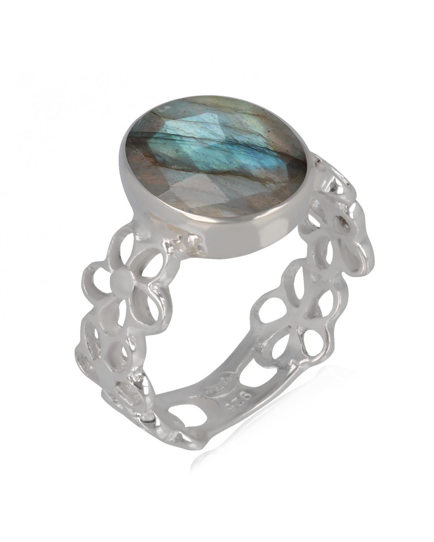 925 Sterlingsilber Labradorite Ringe