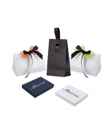 Geschenkidee Schmuck Zen Collection-Halskette-Perlmutt-Yoga- Sterling Silber-Oval-Frau