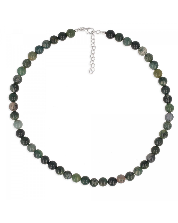 925 Sterlingsilber Achat Halskette