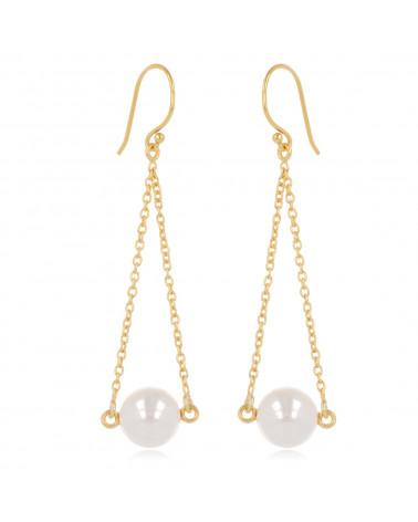 Geschenk für Frauen Mode Halskette Gold überzogenes stilisiertes umgekehrtes Dreieck