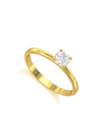 Anillo de Oro Diamantes