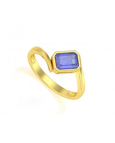 Gold Tanzanit Ringe ADEN - 1