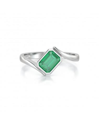 Anelli Oro Smeraldo ADEN - 2