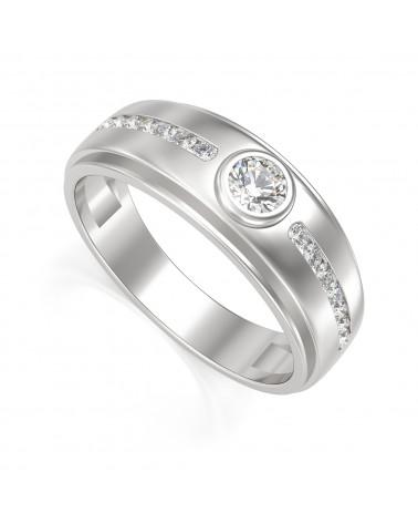 Gold Onyx Diamanten Biker Ringe ADEN - 1