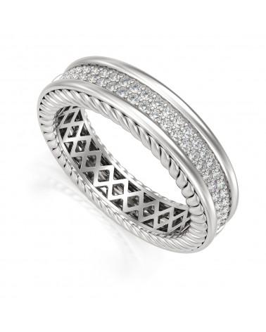 Anelli Diamanti Oro ADEN - 1